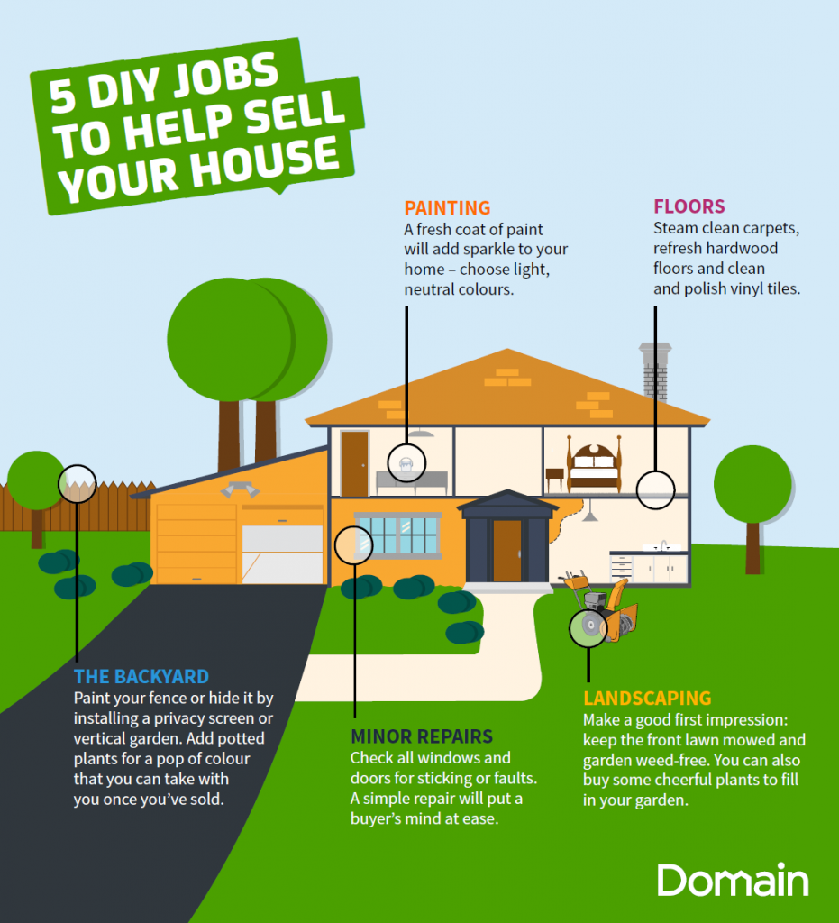 5 DIY jobs to help sell your house