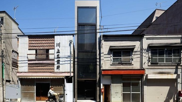 Super narrow 1.8-metre house slotted into Tokyo