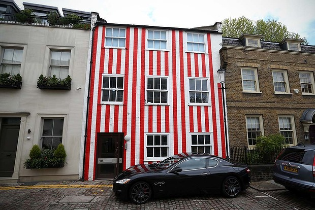 London stripey house owner loses High Court planning fight