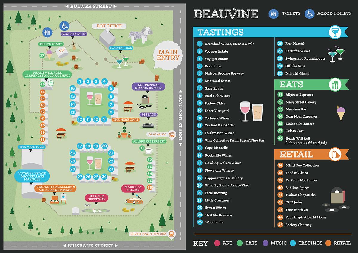 beauvine-site-map